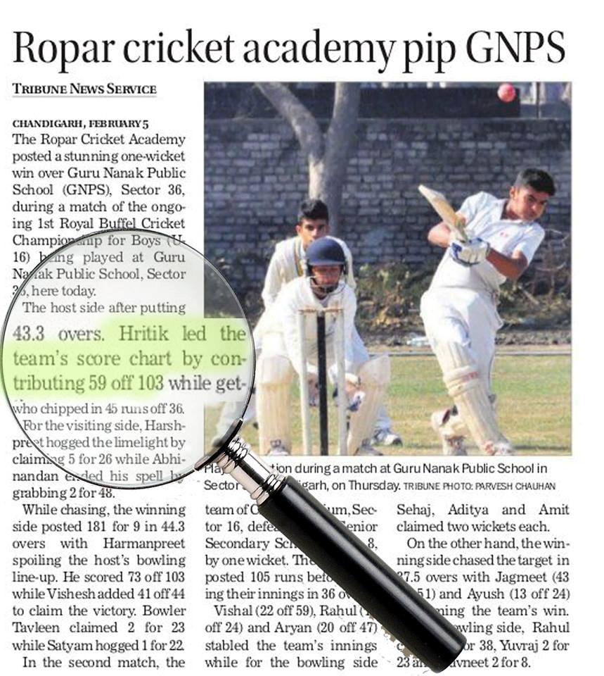 Hritik-bats-victory